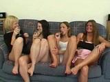 lezbična zabava