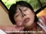 azijska orgija s spermo