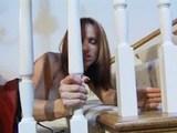 fetišistki na stopnicah