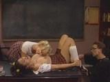 pohotni šolarki seksata z učiteljem