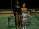 lezbijke na teniškem igrišču