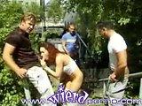 grupni seks v javnem parku